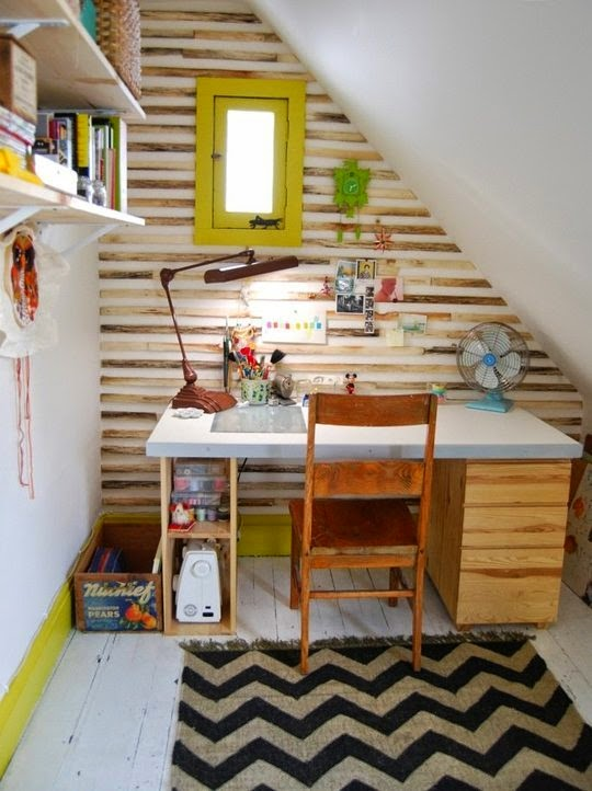 Small-Home-Office-Como-Decorar-Pequena-Oficina-en-Casa